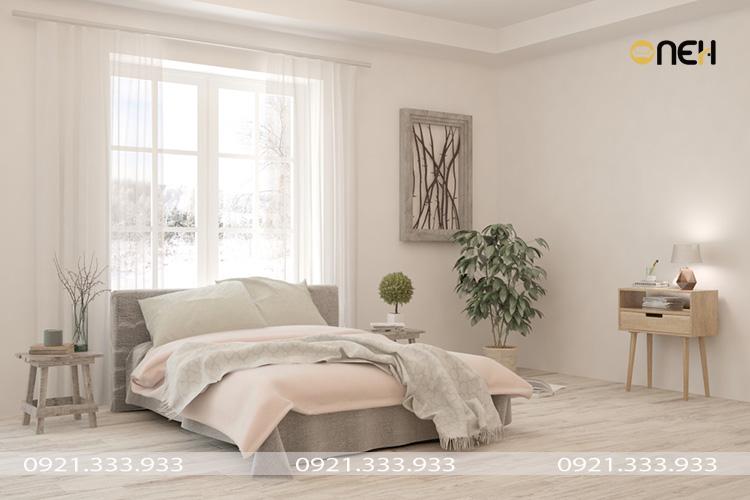 Cây trồng trong phòng ngủ - Thiết kế hài hòa với không gian tỏng thể