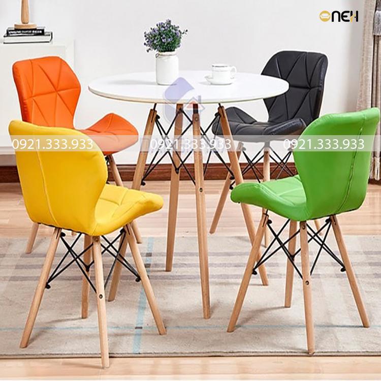 Bàn ghế cafe phong cách trẻ trung