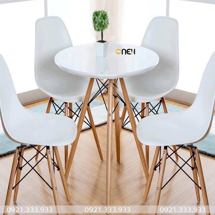 Bàn ghế cafe hiện đại