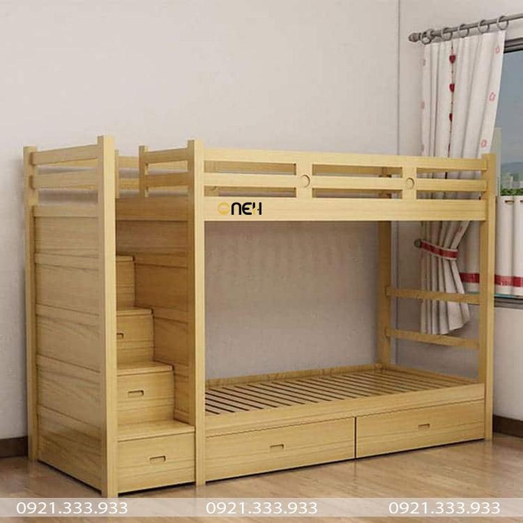 Kích thước giường tầng có 2 mặt bằng nhau