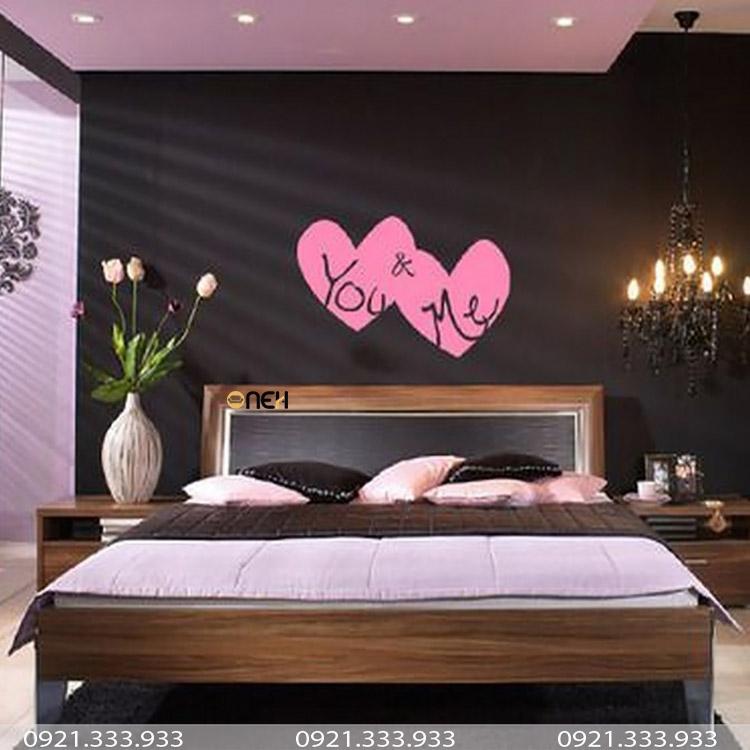 Giường ngủ vợi chồng có kích thước lớn