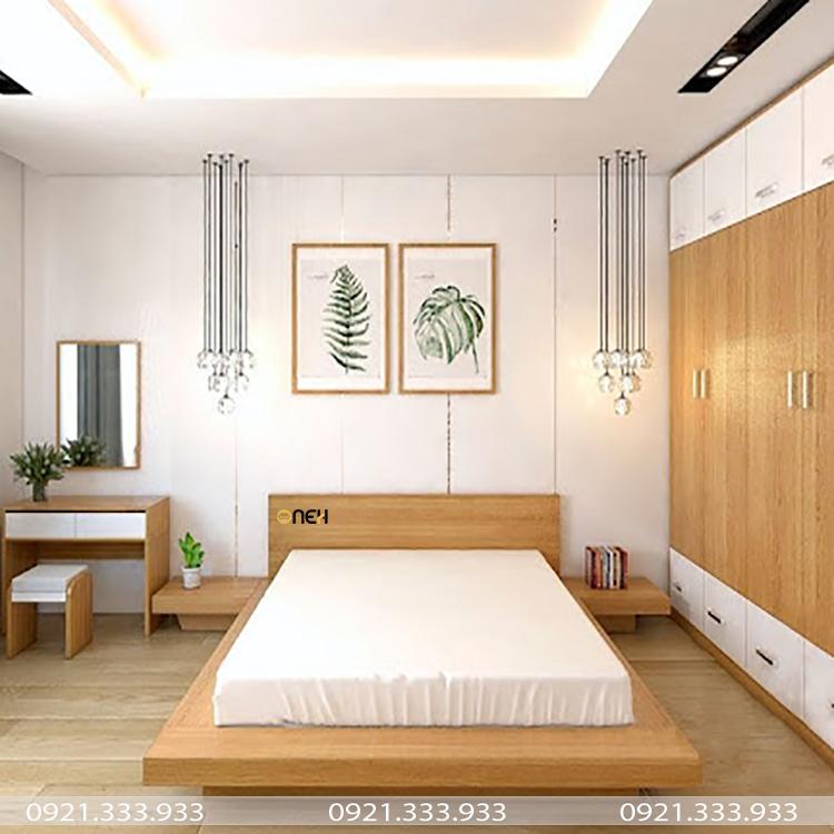 Giường ngủ có kiểu dáng đơn giản