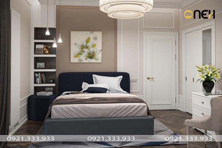Thiết kế, trang trí phòng ngủ tiện nghi