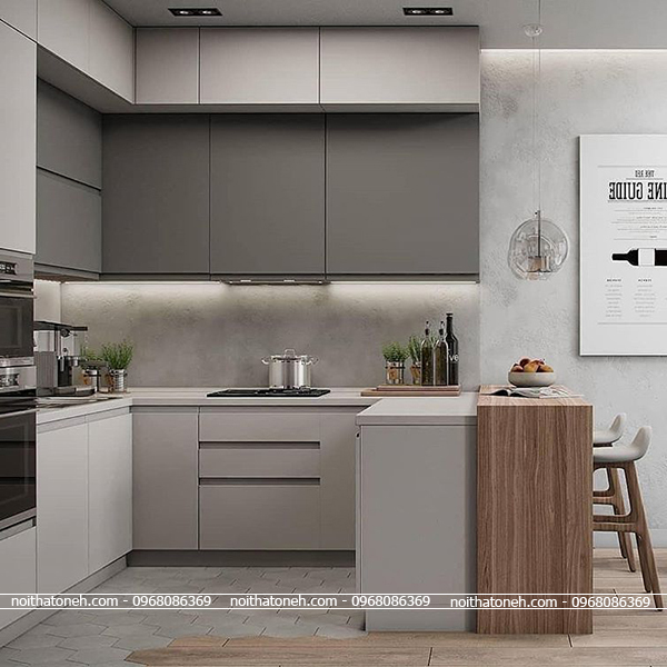 Tủ Bếp Laminate MS01