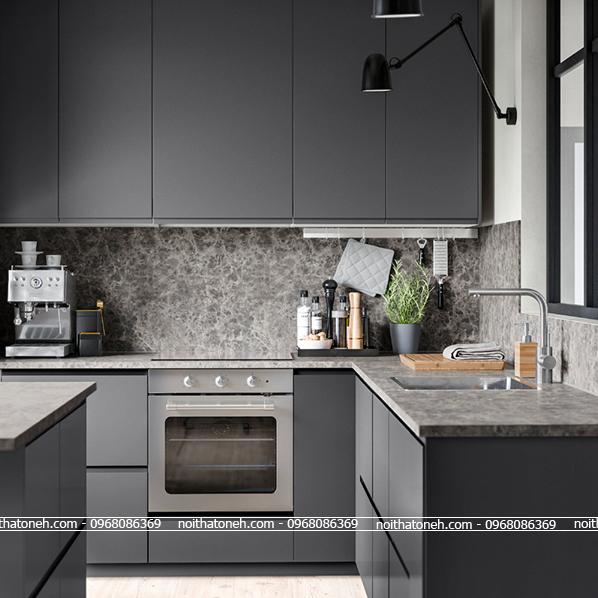 Tủ Bếp Laminate MS02