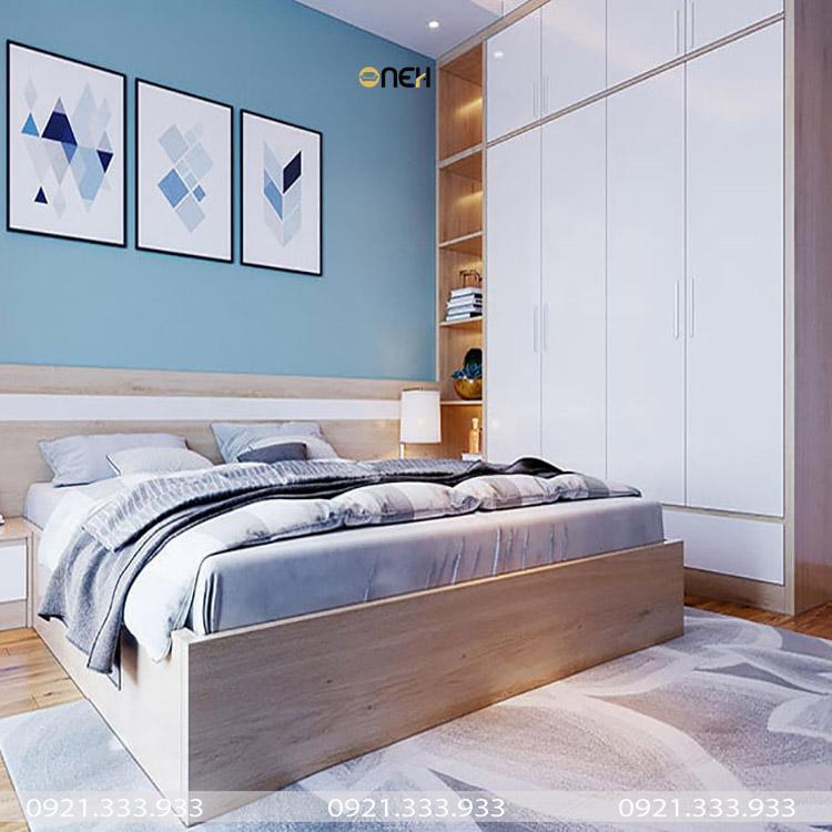 Đường nét thiết kế tủ bếp gỗ mini đơn giản, nhưng đẹp mắt