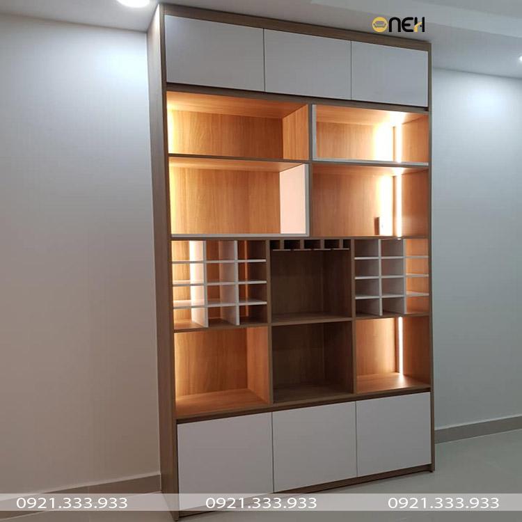 Thiết kế tủ quần áo gỗ mini nhiêu ngăn đáp ứng nhu cầu khác nhau của người dùng