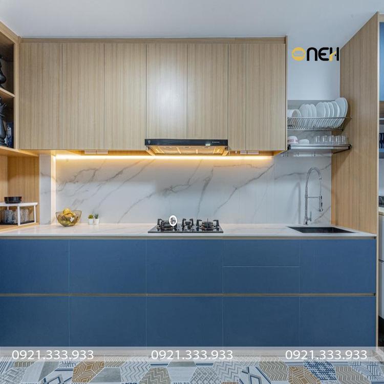 Tủ bếp chịu nhiệt tốt, thích ứng với điều kiện thời tiết, khí hậu Việt Nam