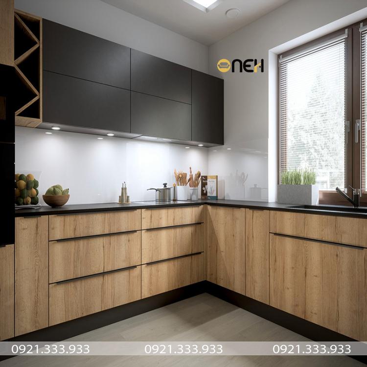 Tủ bếp gỗ công nghiệp An Cường chất lượng
