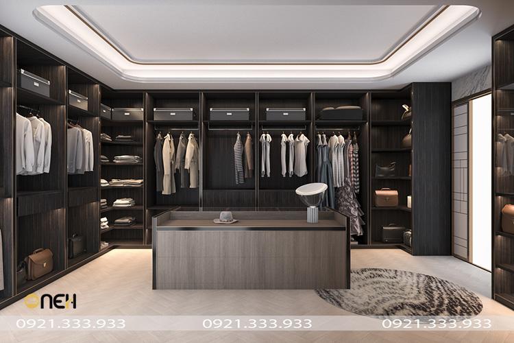 Mẫu tủ quần áo góc chất liệu gỗ cao cấp, bền theo thời gian