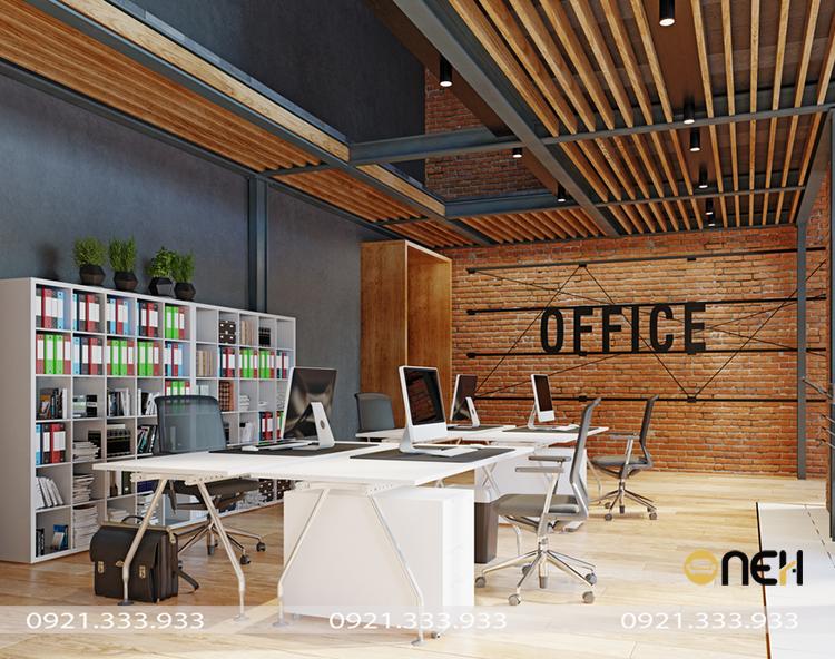 Thiết kế - Đóng nội thất theo yêu cầu cho văn phòng làm việc