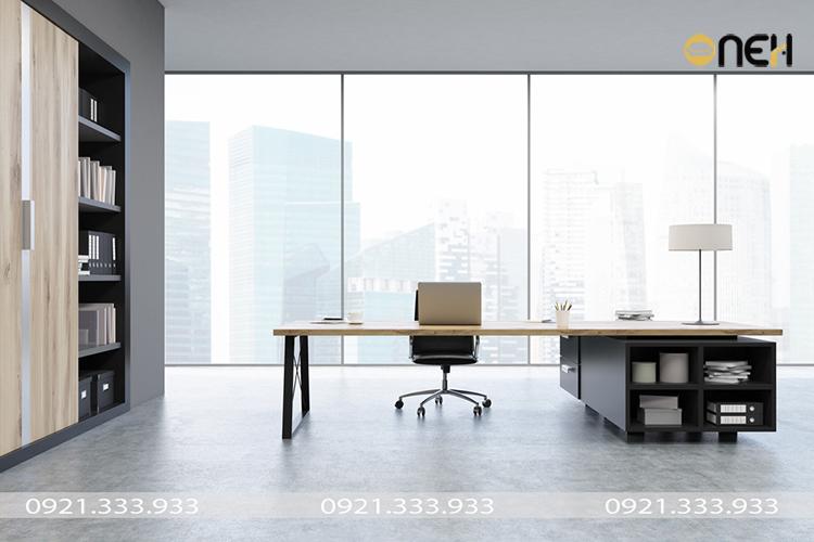 Đóng nội thất gỗ văn phòng theo yêu cầu