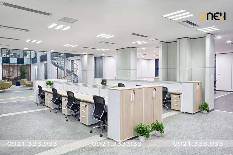 Thiết kế, đóng nội thất gỗ văn phòng trọn gói