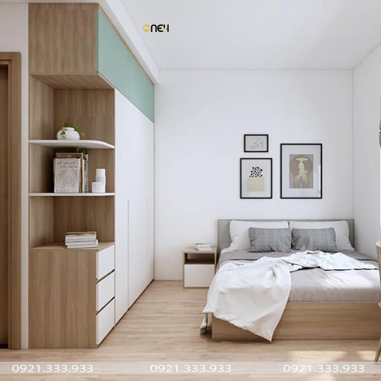 Thiết kệ nội thất đơn giản ưa chuộng màu sáng