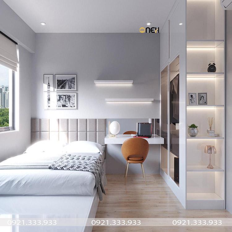 Tủ áo gỗ công nghiệp phù hợp với các không gian phòng ngủ hiện đại