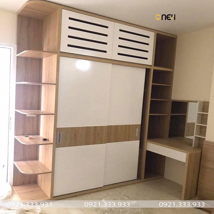 Tủ quần áo gỗ công nghiệp có có chất lượng cao