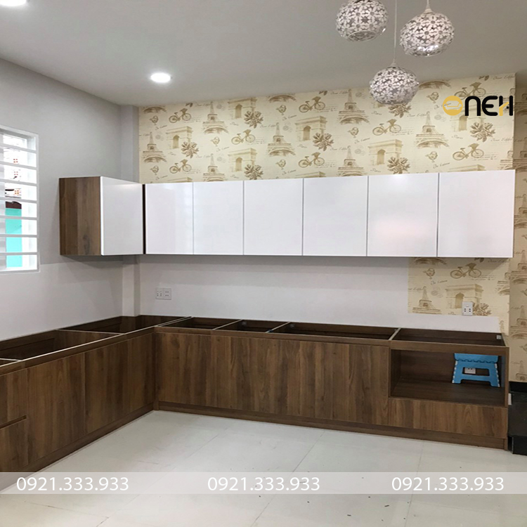 Tủ bếp gỗ An Cường thiết kế tiện ích, đáp ứng nhu cầu sử dụng