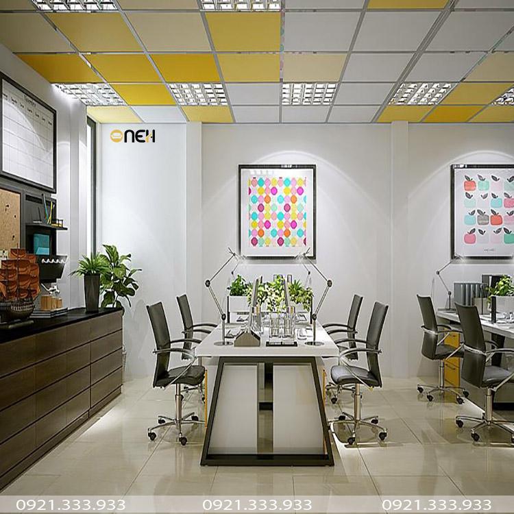 Thi công nội thất văn phòng theo phong cách hiện đại