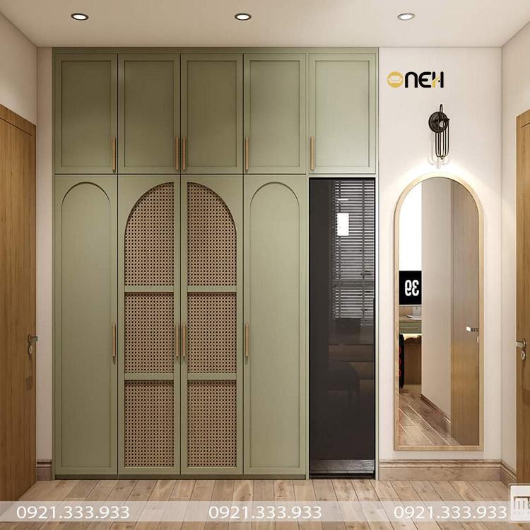 Tủ quần áo có thiết kế hiện đại