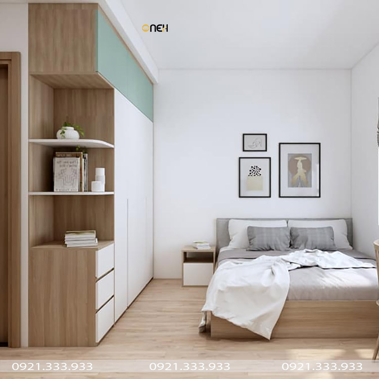 Tủ quần áo theo phong cách tối giản